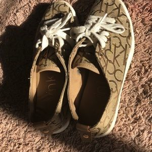 Calvin Klein authentic discontinued sneakers!!!